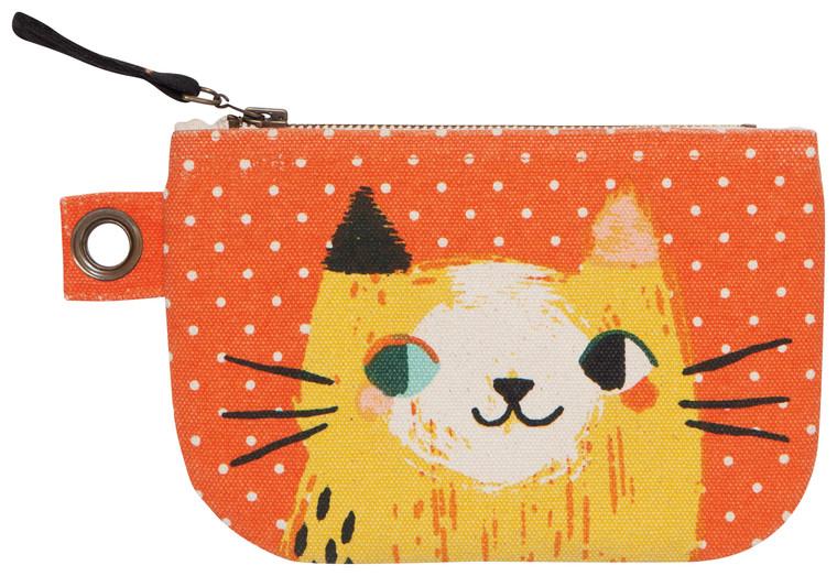 Meow Meow Small Zipper Pouch