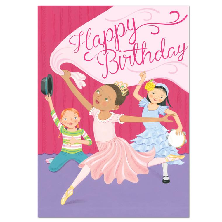 Dancing Girls Card