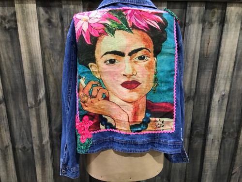 Frida Kahlo Denim Jacket