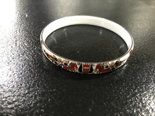 Austrian Handmade Enamel Bangle