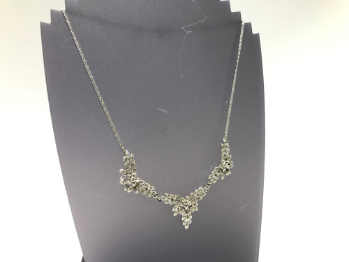 1940's Marcasite Necklace A/F