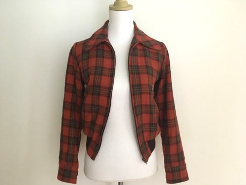 Revival Cool Red Check Jacket
