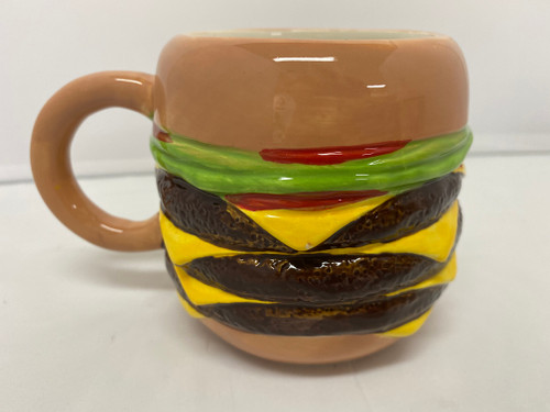 Ceramic 'Burger' Coffee Mug