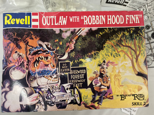 Revell Model Ed Roth Outlaw with 'Robbin Hood Fink'