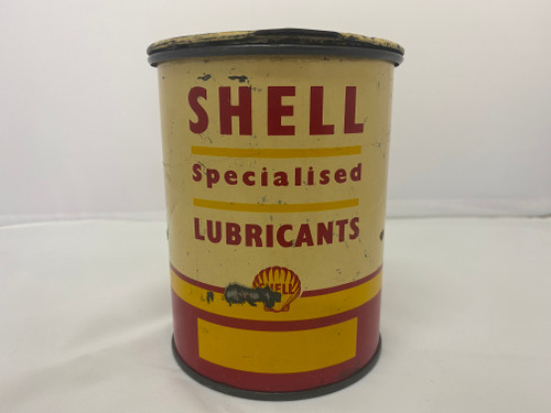 SHELL Specialised Lubricants 1LB Net Grease Tin