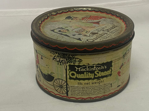 MACKINTOSH'S QUALITY STREET '1LB Net Weight' Round Tin