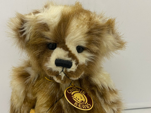 CHARLIE BEARS TICKLE Teddy Bear Retired Show Special - 30cm