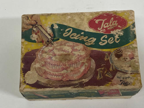 Vintage TALA ICING SET No. 1705 - Original Box and Contents