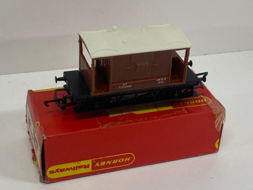 TRIANG HORNBY Model Train BRAKE VAN R.016 with Box