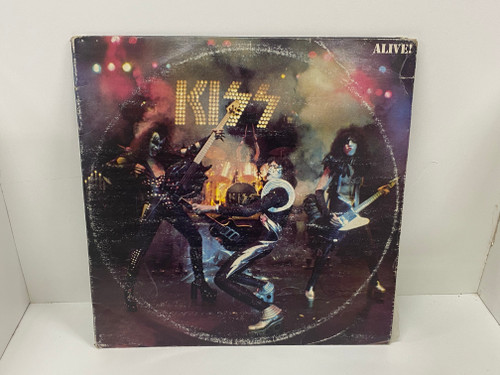 Vinyl Record - KISS ALIVE! 2 Record Album NBLP 7020/798