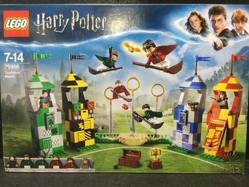 HARRY POTTER LEGO Quidditch Game - Complete & As New