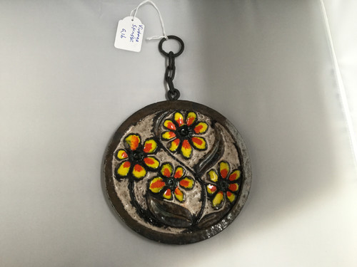 German Wall Charger with Daisies