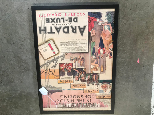 Original 1934 Cigarette Ad