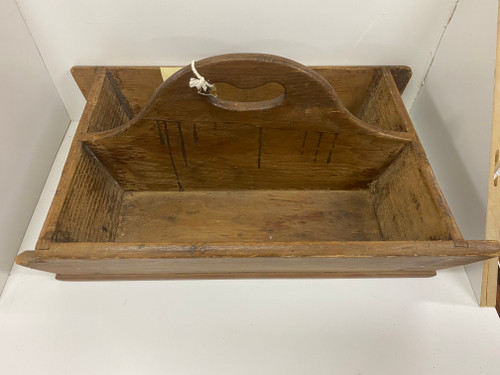 Vintage Timber Caddy 46cm Long