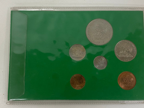 Trinidad & Tobago Collectable Coin Set on Card