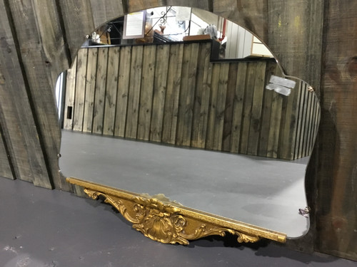 Beautiful Antique Mirror - Gold