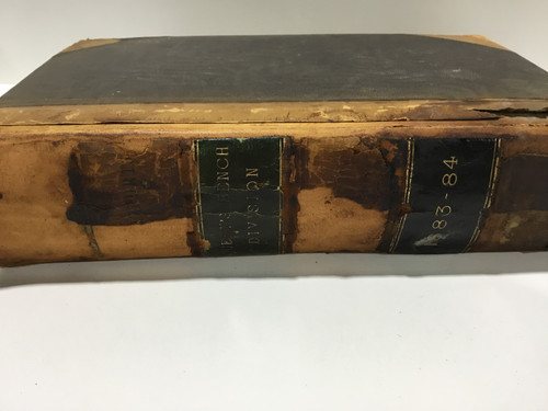 Queen's Bench Division Book c1883 - 84