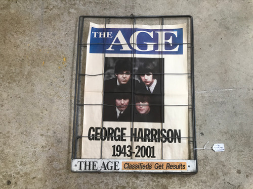 The Age George Harrison Display