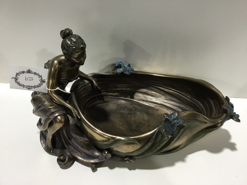 Veronese Bronze Plated Maiden Bowl