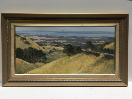 Signed Oil Painting by Chris Kandis Listed Australian Artist