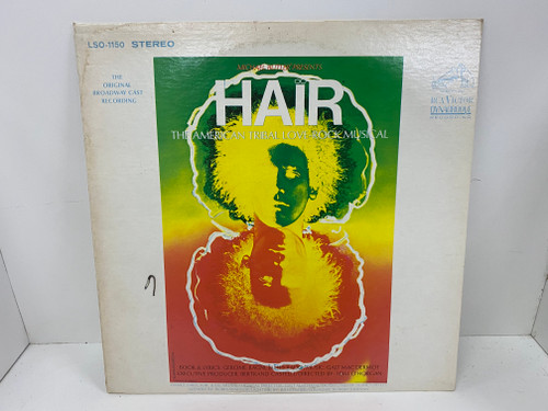 Vinyl Record - HAIR - The American Tribal Love Rock Musical