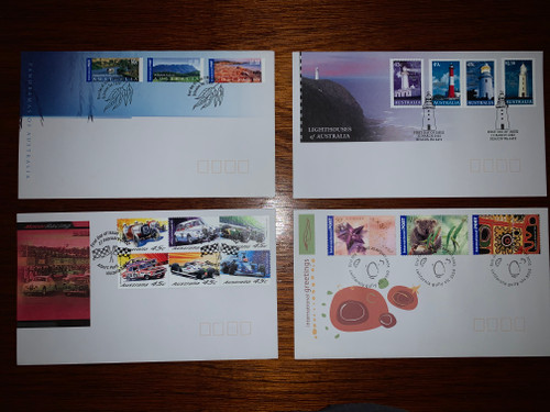 11 x Australian First Day Covers 1999-2002