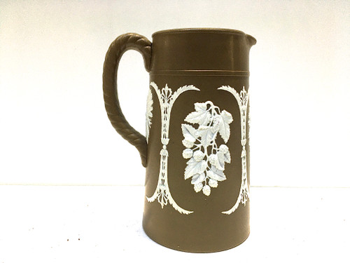 Antique James Dudson Jaspwerware Jug