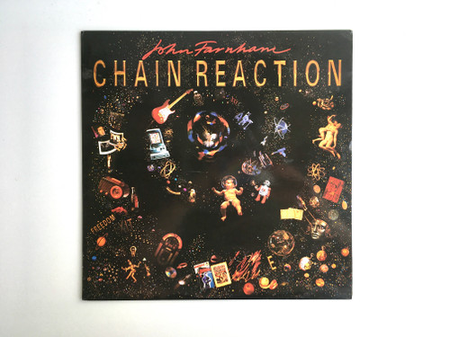 Vinyl Record - John Farnham - Chain Reaction