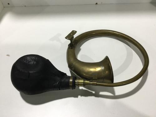 Decorative Vintage Brass Horn