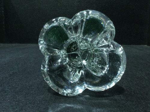 Gorgeous Green Art Glass Bird - 22cm