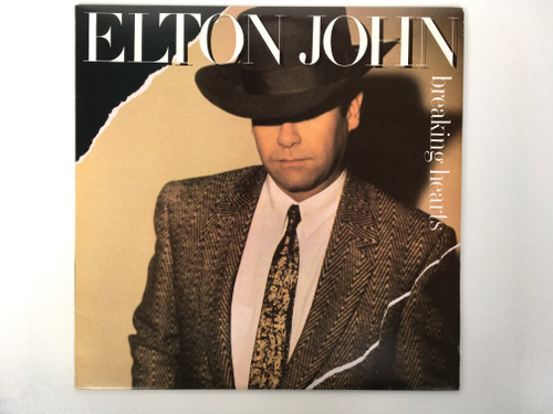 Vinyl Record - Elton John - Breaking Hearts