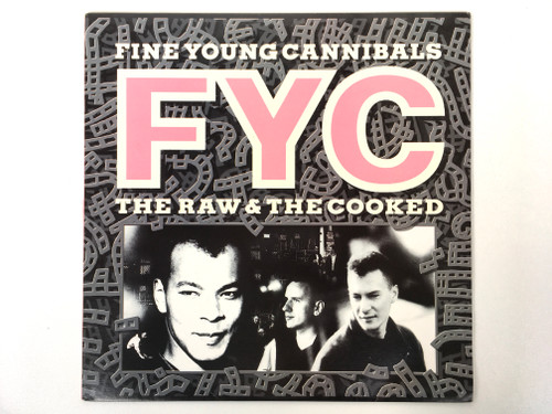 Vinyl Record - FYC - Fine Young Cannibals - The Raw and The Cooked