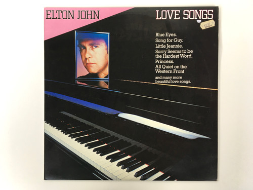 Vinyl Record - Elton John - Love Songs