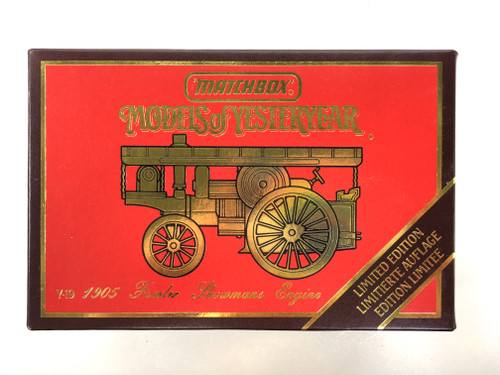 Matchbox Models of Yesteryear 1905 Fowler Showmans Engine