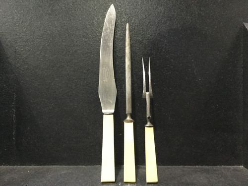 Bone 3 Piece Carving Set