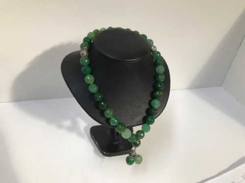 Faceted Jade Necklace