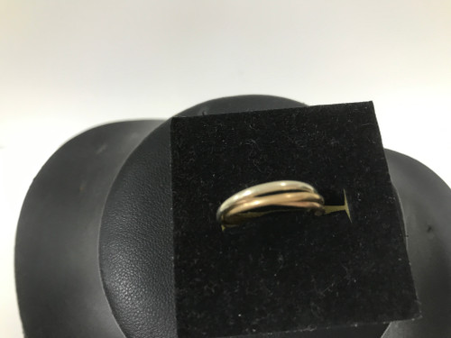9ct Russian Wedding Triple Ring