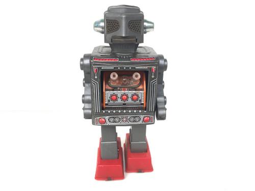 Retro Silver Tin Plate Robot Japan
