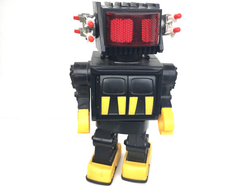 Retro Style Large Missile Shooting Robot Plastic