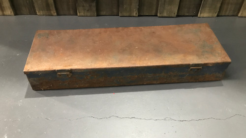 Blue Rusty Tool Box