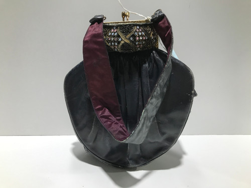 Art Deco Leather Evening Bag