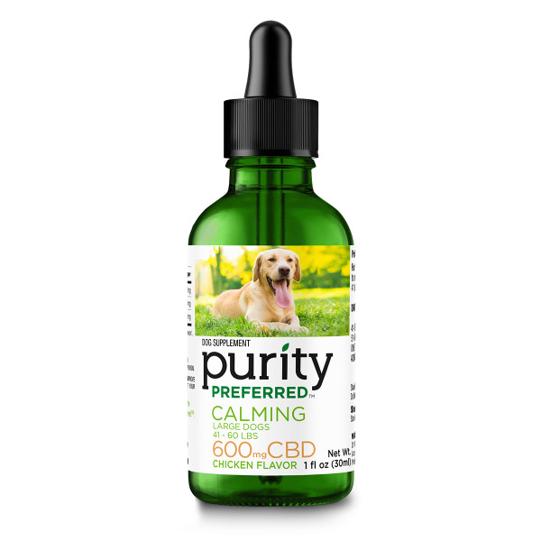 Pet CBD Hip & Joint Drops 600mg for Large Dogs (41 to 60 LBS)