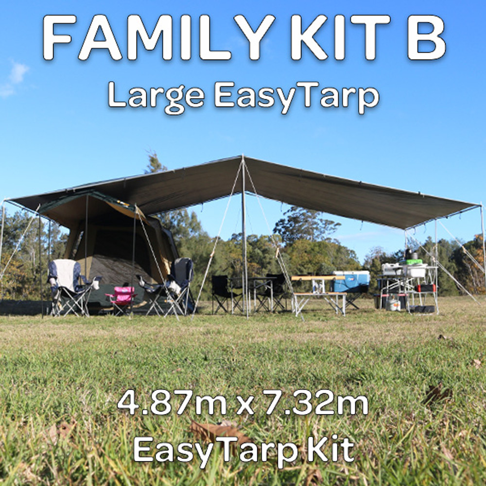FAMILY KIT B EasyTarp | Be A Tarp Master