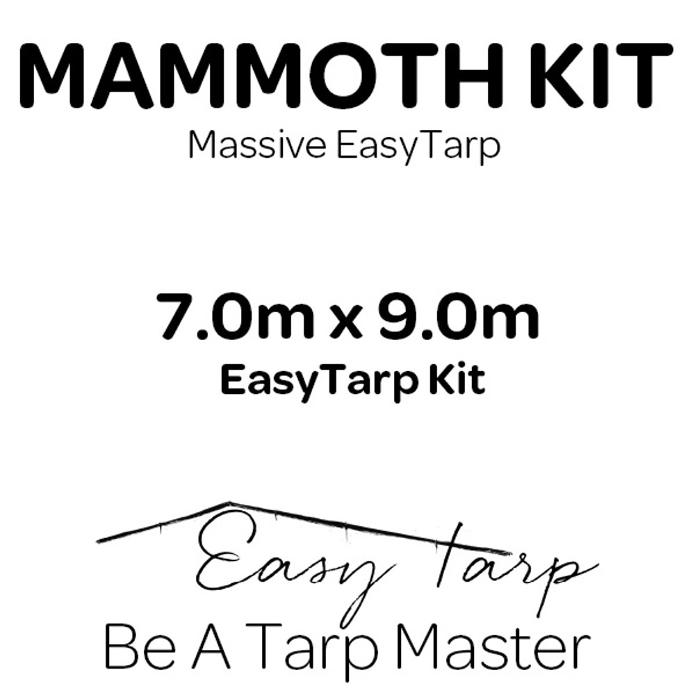 MAMMOTH KIT EasyTarp | Be A Tarp Master