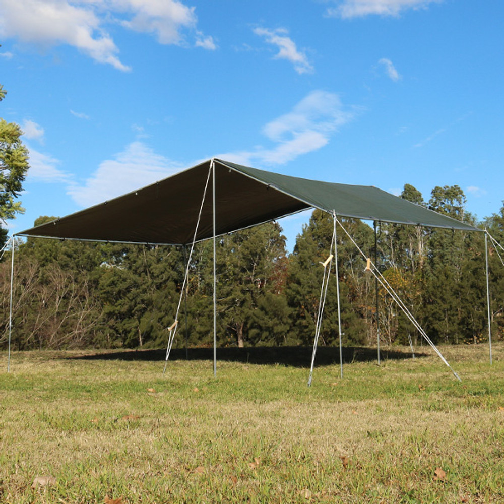 CAMPA KIT EasyTarp is easy to set up