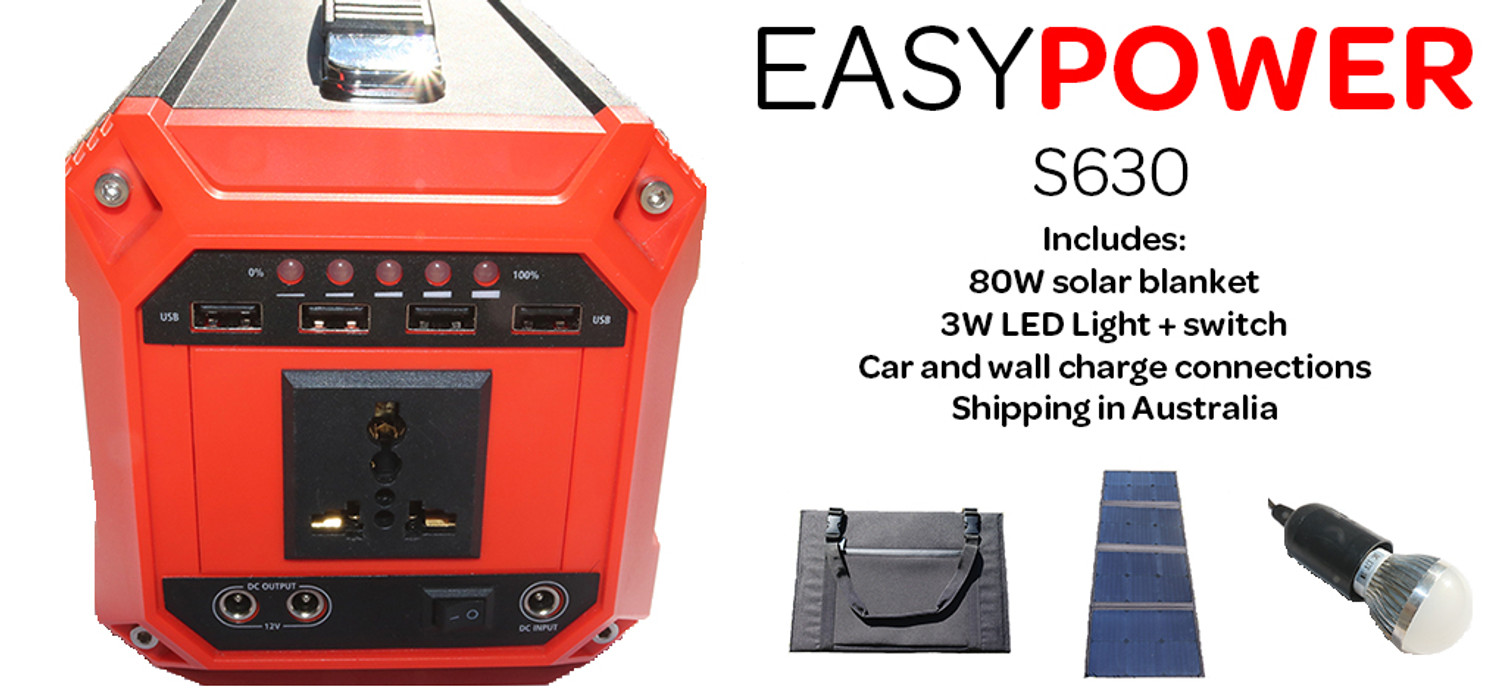 Camping with Solar Power - Portable Solar Power Packs