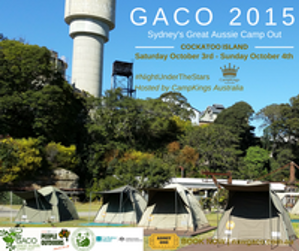 Great Aussie Camp Out 2015