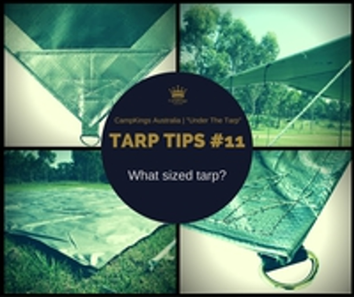 Tarp Tips #11 | What Sized Tarp?