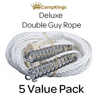 Double Guy Rope 5 Pack