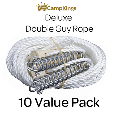 Double Guy Rope 10 Pack